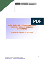 LOS NÚCLEOS EJECUTORES