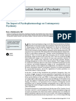 The Impact of Psychopharmacology on Contemporary Psychiatry by Ross J Baldessarini