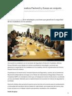 12-12-2018 Trabajarán gobernadora Pavlovich y Durazo en conjunto - El Sol de Hermosillo