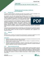 3.4 Descripcion Del Medio Social, Economico, Cultural y Antropologico de La Poblacion F965alF1070
