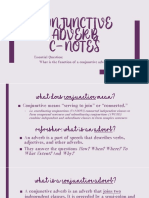 conjunctive adverb ppt