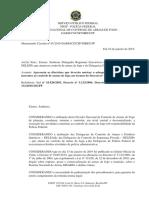 MSJP - Diretrizes que deverão nortear a adequação dos procedimentos inerentes ao controle de armas de fogo aos termos do Decreto nº 9.685.