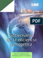 Gobernanza de La Eficiencia Energetica - Manual Regional America Latina y Caribe