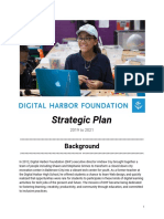 Digital Harbor Foundation - Strategic Plan - 2019-2021
