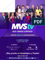 Lanzamiento Canal MVStv