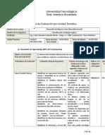 RUBRICA NUEVA Unidad 1 Introduccion a La Lengua Ingles 0A DNAM BIS