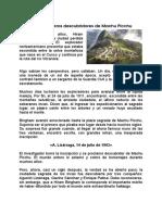 M Picchu