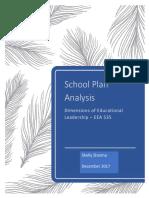 ecc 535 - school plan assignment
