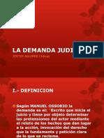 Diapositivas Demanda Judicial