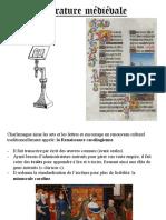 presentation litterature medievale