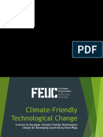 Climate-Friendly Technological Change