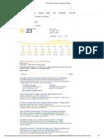 Clima Belo Horizonte - Pesquisa Google