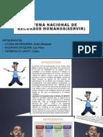 Sistema Nacional de Recursos Humanos(SERVIR)