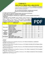 Tema v. La Evaluación de La Práctica Docente.
