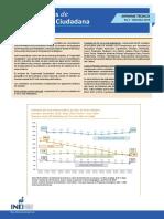 Estadísticas de Seguridad Ciudadana. Informe Técnico Nro. 03 – Setiembre 2014