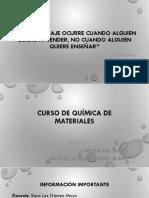 Presentacion Curso Qm 2018-1