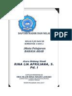Daftar Hadir Dan Nilai Smp, Mts .Ma