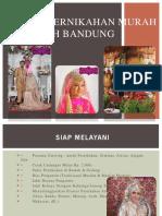 Paket Pernikahan Murah Wilayah Bandung