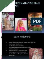 Paket Pernikahan Murah Di Malang