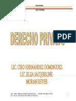 Derecho Privado (2)