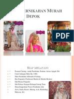 Paket Pernikahan Murah Wilayah Depok