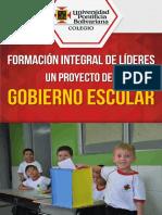 Cartilla Gobierno Escolar 2015