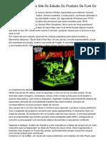 Estudio Bom Bando Site Do Estudio Do Produtor De Funk DJ Cuco