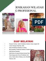 Paket Pernikahan Wilayah Bandung Profesional