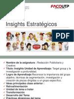 Insights Estrategicos - Redaccion
