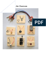 Circuit Blocks in the Classroom