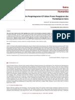 Integrasi ICT Dalam Pdp Sains
