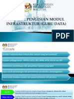 Manual Pengisian Modul Infrastruktur (Guru Data)