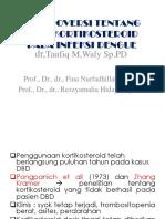 Kontroversi Penelitian Tentang Efek Kortikosteroid Pada Infeksi Dengue