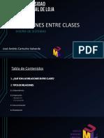 Relaciones entre clases - Diseño de Sistemas