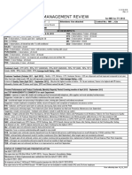 contoh lapoaran manajemen review ISO 9001:2008 dan !4001:2004