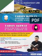 Brosur Tahsin Fixed Lah