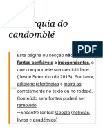 Hierarquia do candomblé