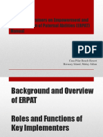 ERPAT TOT_An Overview and Roles of  Implementers.pptx