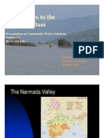 Alternatives to the Narmada Dam