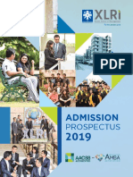 Xat e Prospectus 2019