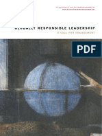 Responsible Leadership Call for Engagement