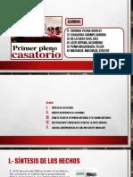 Primer Pleno Casatorio Civil Diapositivas