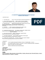Emailing My Resume - Anglais