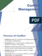OB - Conflict Management