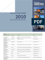 Oferta Exportable 2010