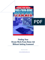 Finding Your Dream Work-From-Home Job Without Getting Scammed