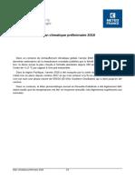 Bilan climatique préliminaire de l'annee 2018 en Nouvelle-Calédonie