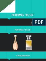 presentación de Perfumes
