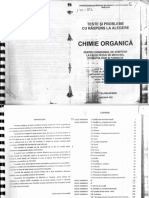 Subiecte BAC Rezolvate Chimie Organica