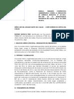 Eugenio Quichca Pino Demanda de Nulidad de Resolución Administrativa